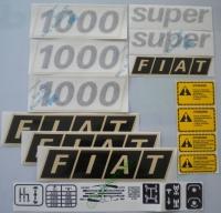 Dec.16.01000 - Decalcomanie Fiat