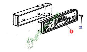 Cruscotti Centraline Pannelli Sollevatore Console Massey Ferguson